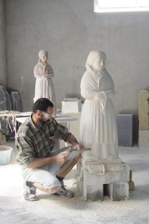 La fabrication de sculpture