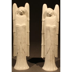 statuette religieuse d'anges